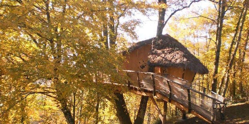 Les cabanes de Carpat